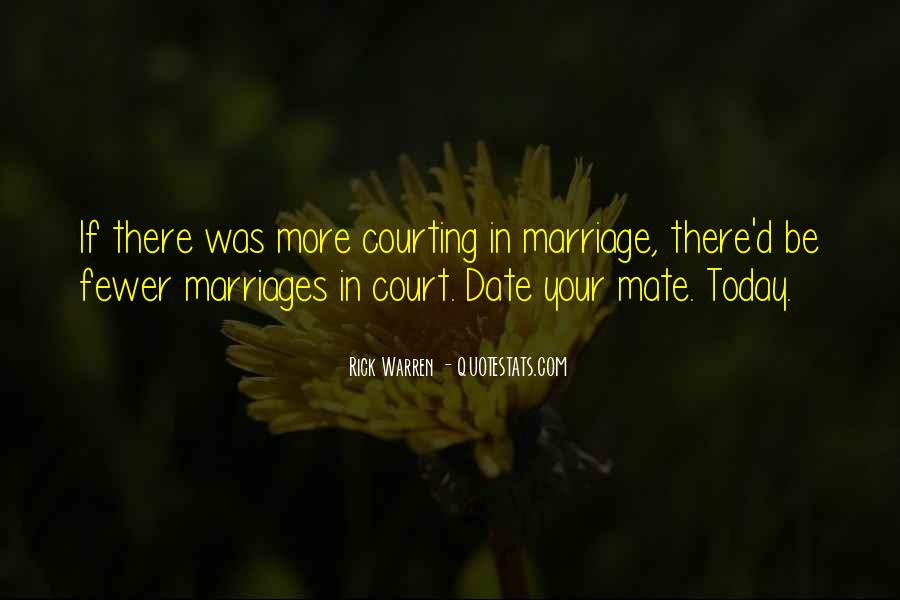 Quotes About Courting #203652