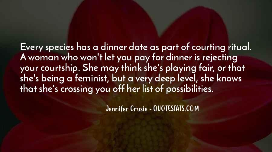 Quotes About Courting #54925