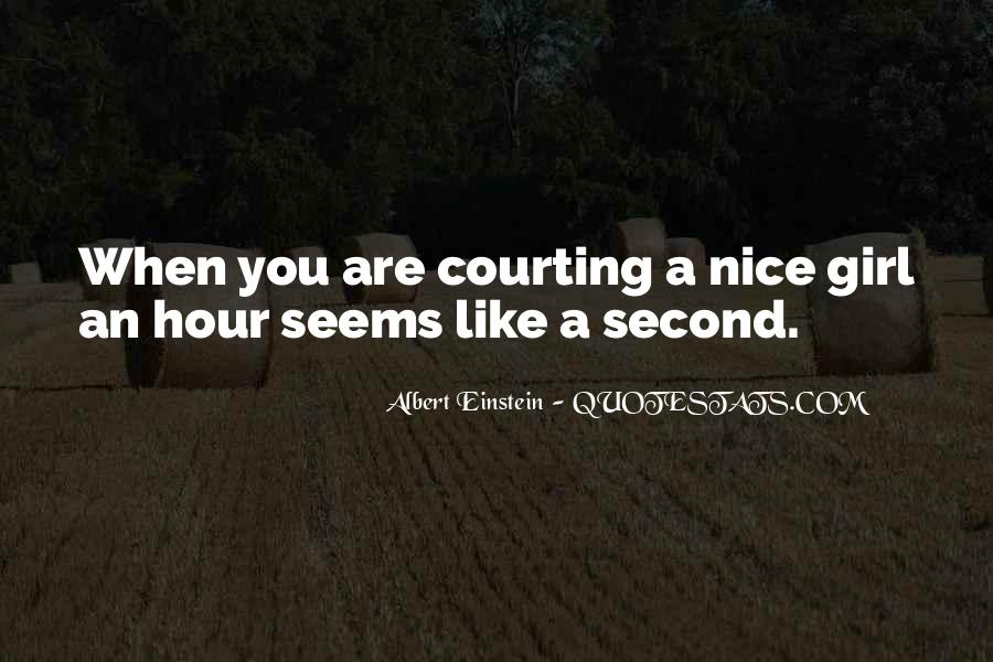 Quotes About Courting #606961