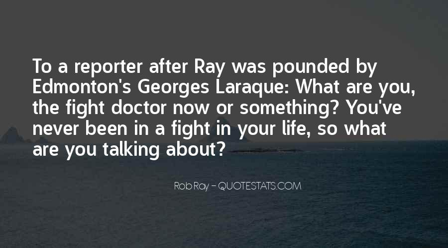 Quotes About Hockey Fighting #742769