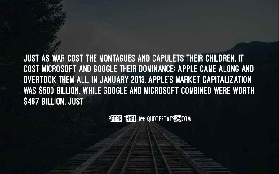 Quotes About Montagues And Capulets #1400294