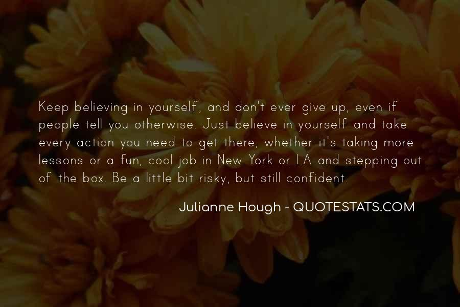Quotes About Confident In Yourself #1218305