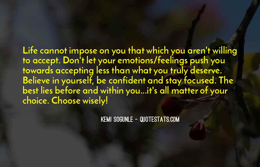 Quotes About Confident In Yourself #1724600