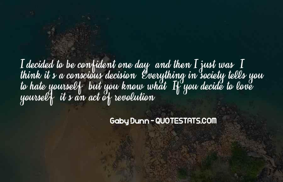 Quotes About Confident In Yourself #1754083