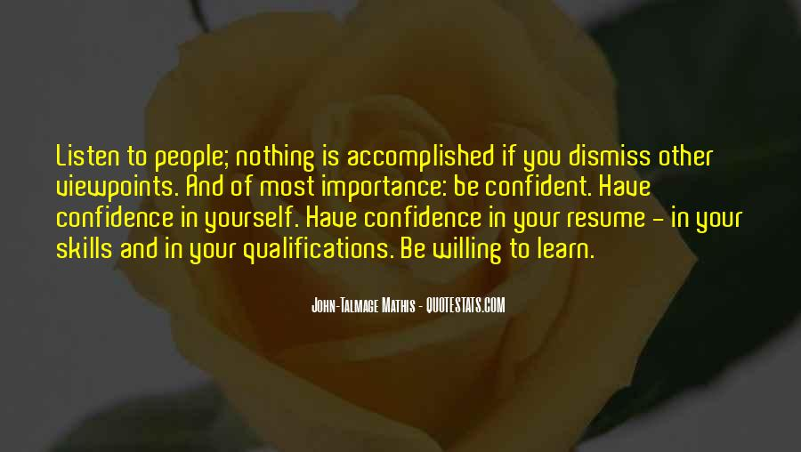 Quotes About Confident In Yourself #1797212