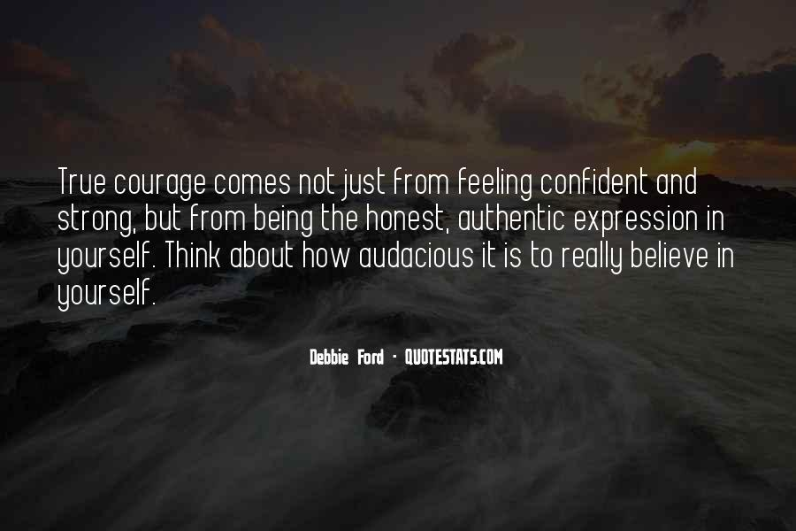 Quotes About Confident In Yourself #198461