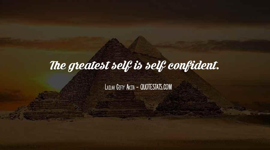 Quotes About Confident In Yourself #33775
