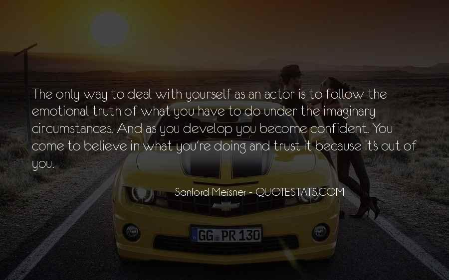 Quotes About Confident In Yourself #858487