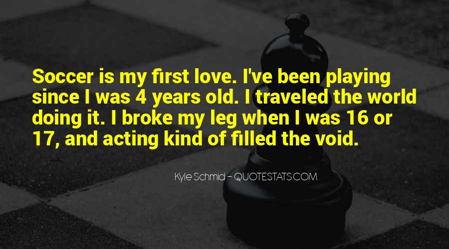 Quotes About Playing Soccer #767522