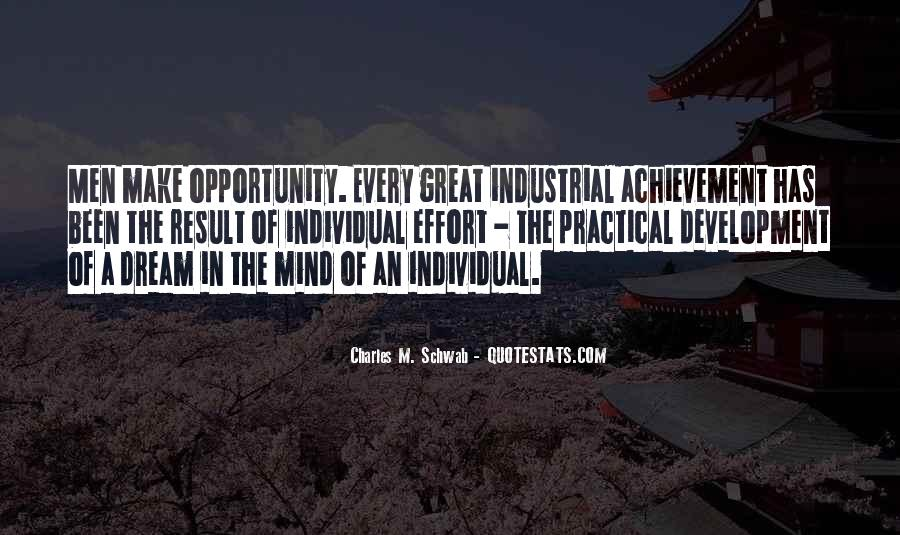 Quotes About Dream And Achievement #1056963