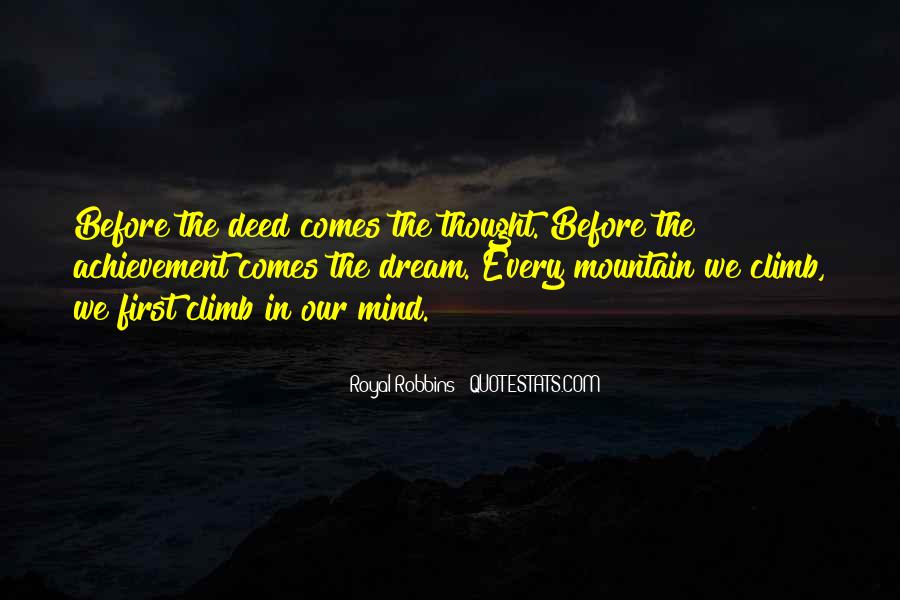 Quotes About Dream And Achievement #1120962