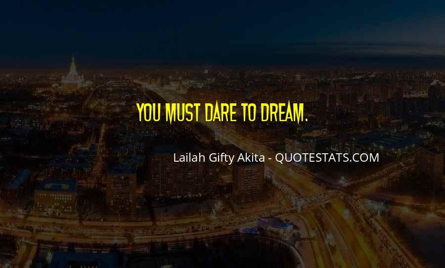 Quotes About Dream And Achievement #112774