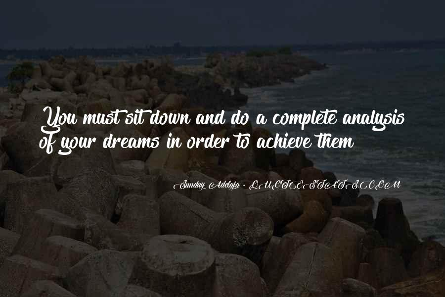 Quotes About Dream And Achievement #1163497
