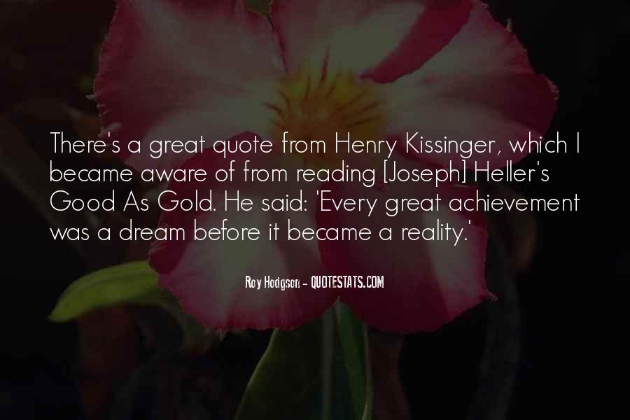 Quotes About Dream And Achievement #1732165