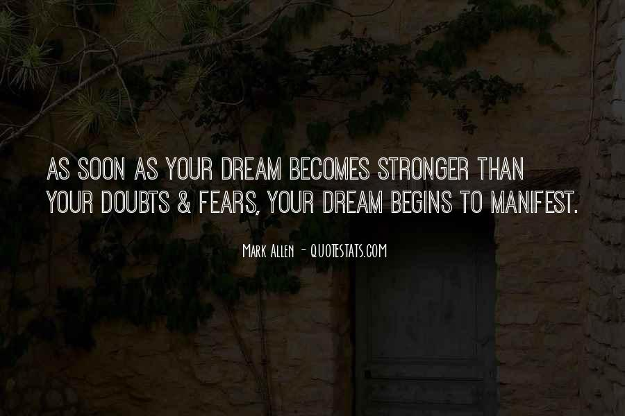 Quotes About Dream And Achievement #1816895