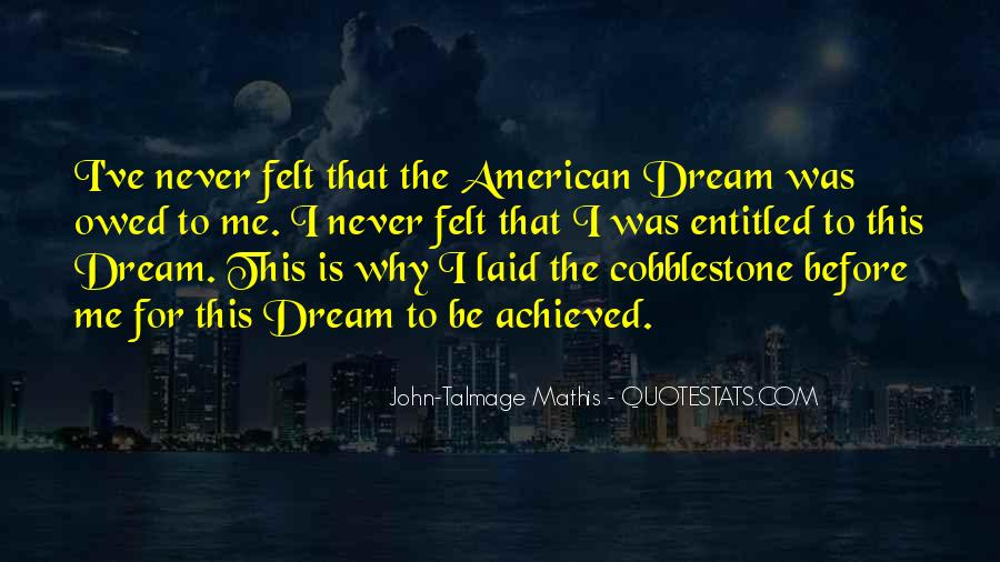 Quotes About Dream And Achievement #599140