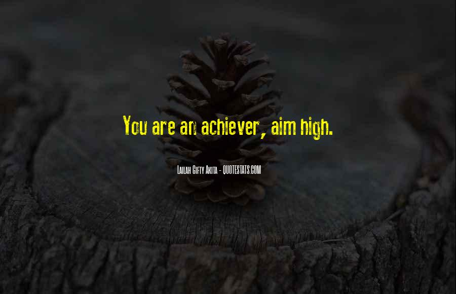 Quotes About Dream And Achievement #763266