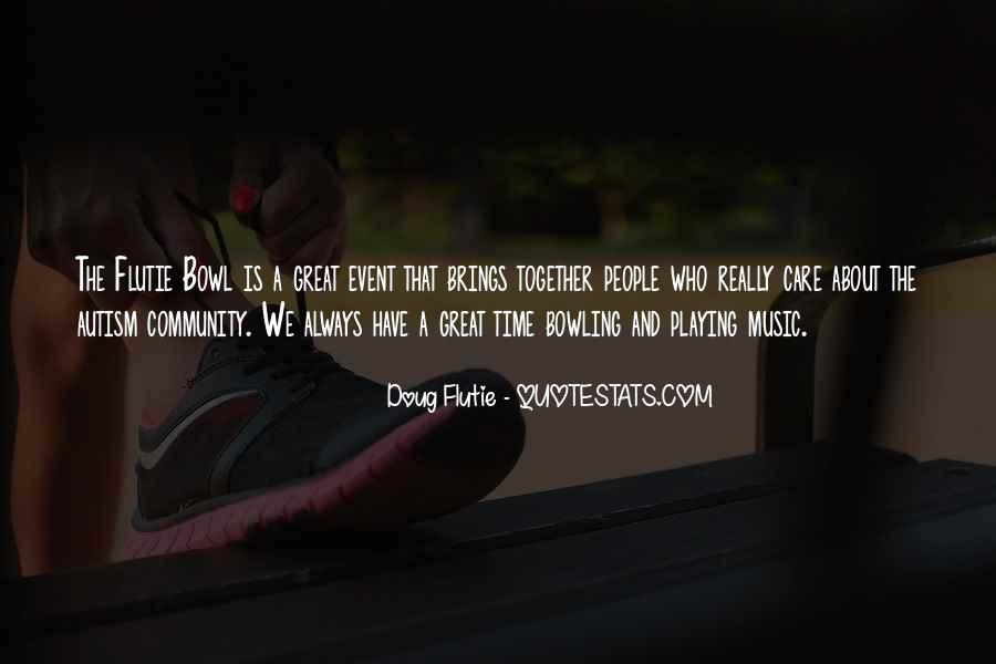 Quotes About Playing Music Together #158143