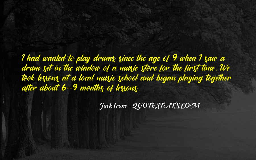 Quotes About Playing Music Together #213530