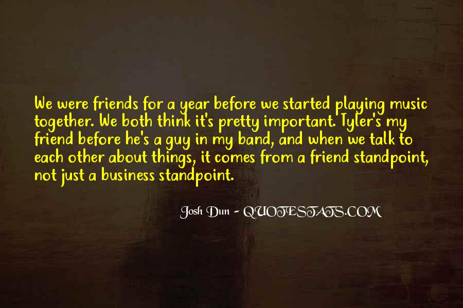 Quotes About Playing Music Together #557804