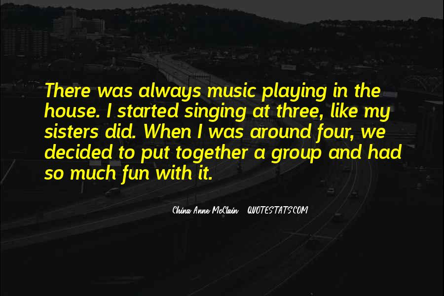 Quotes About Playing Music Together #965432