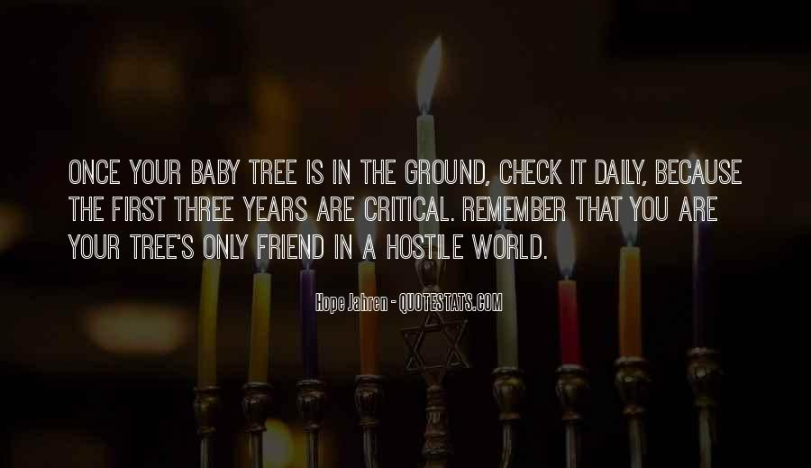 Quotes About Trees And Hope #1286920
