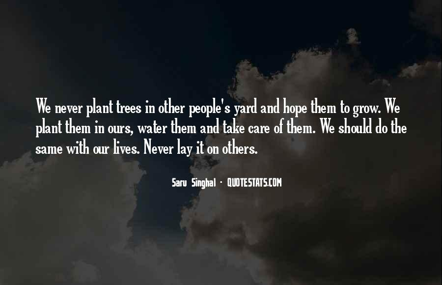 Quotes About Trees And Hope #222952