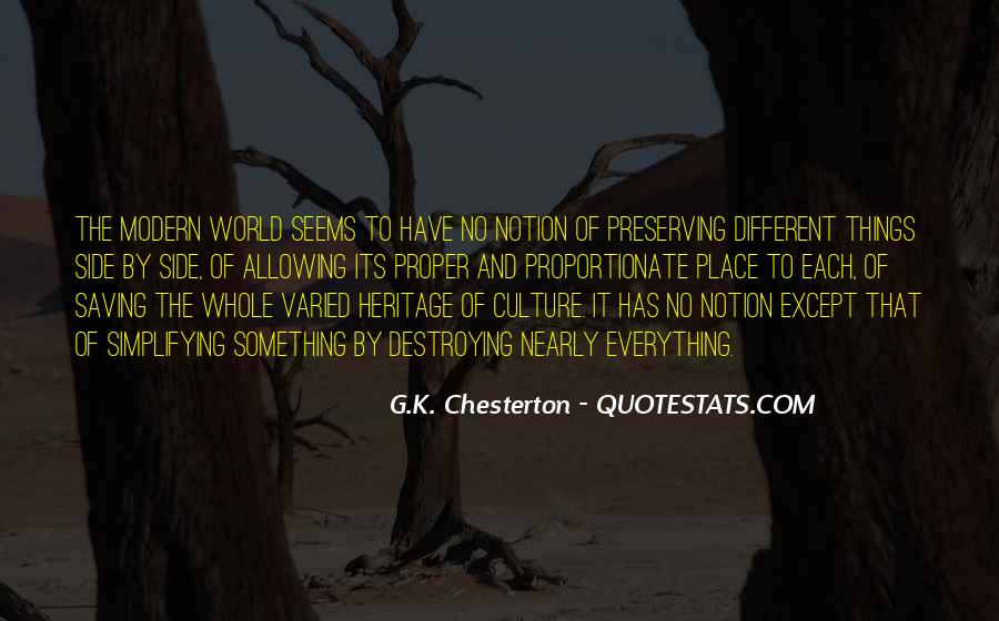 Quotes About Preserving Our Heritage #621997