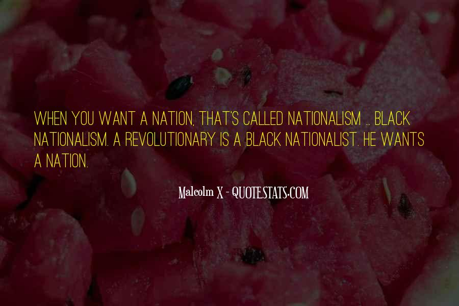 Quotes About Black Nationalism #1737047