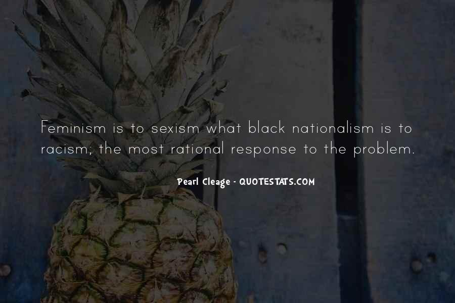 Quotes About Black Nationalism #651180
