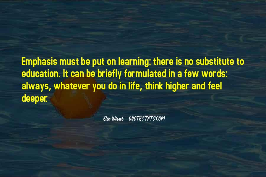 Quotes About Higher Thinking #10201