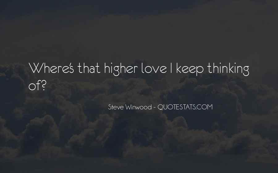 Quotes About Higher Thinking #118354