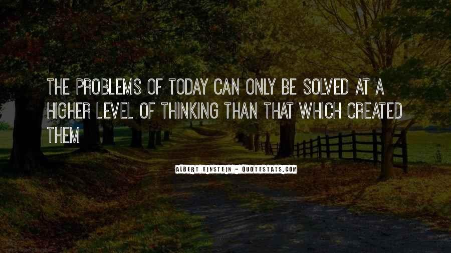 Quotes About Higher Thinking #411824