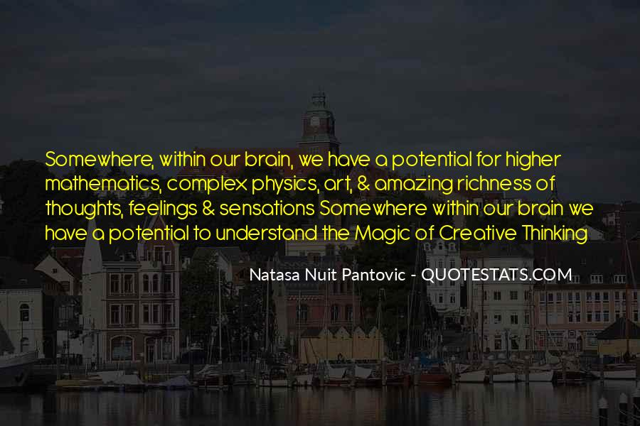 Quotes About Higher Thinking #629345