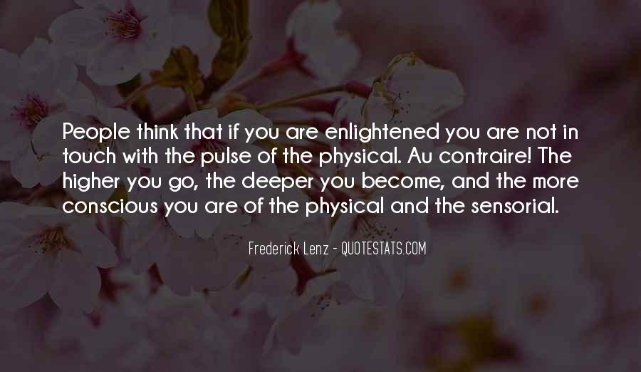 Quotes About Higher Thinking #703258
