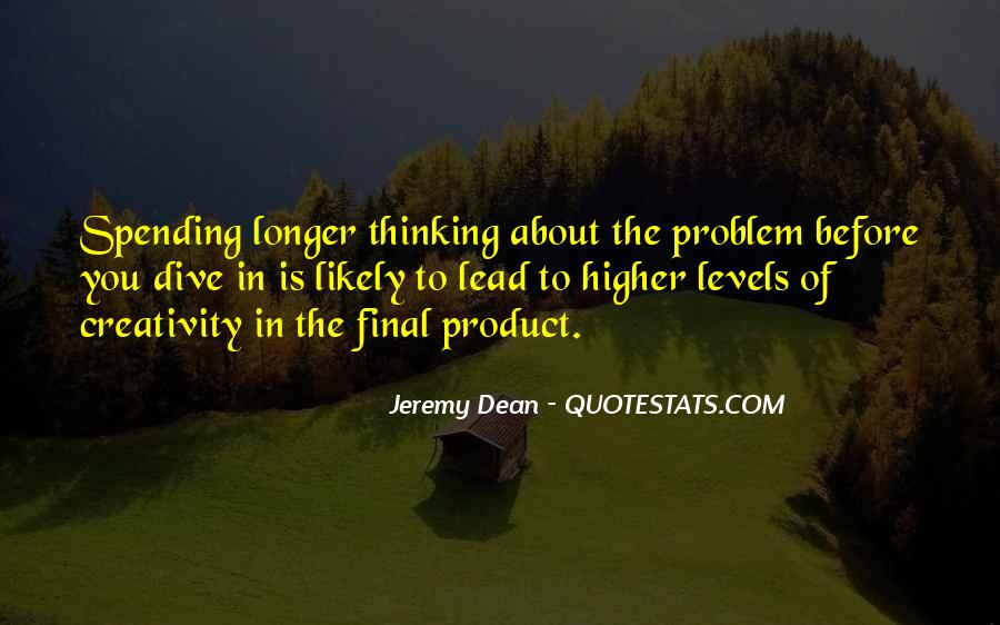 Quotes About Higher Thinking #834681