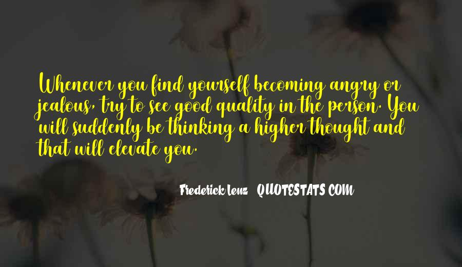 Quotes About Higher Thinking #877819