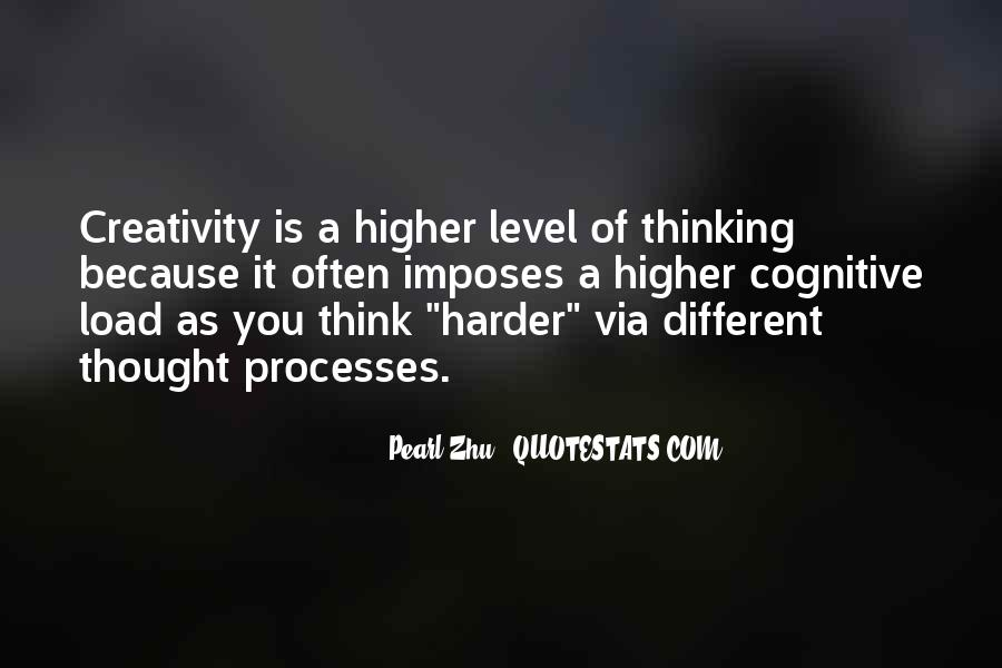 Quotes About Higher Thinking #880536
