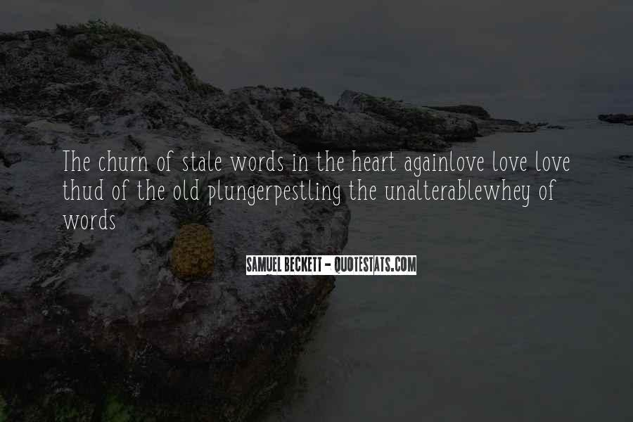 Quotes About Stale Love #1819716