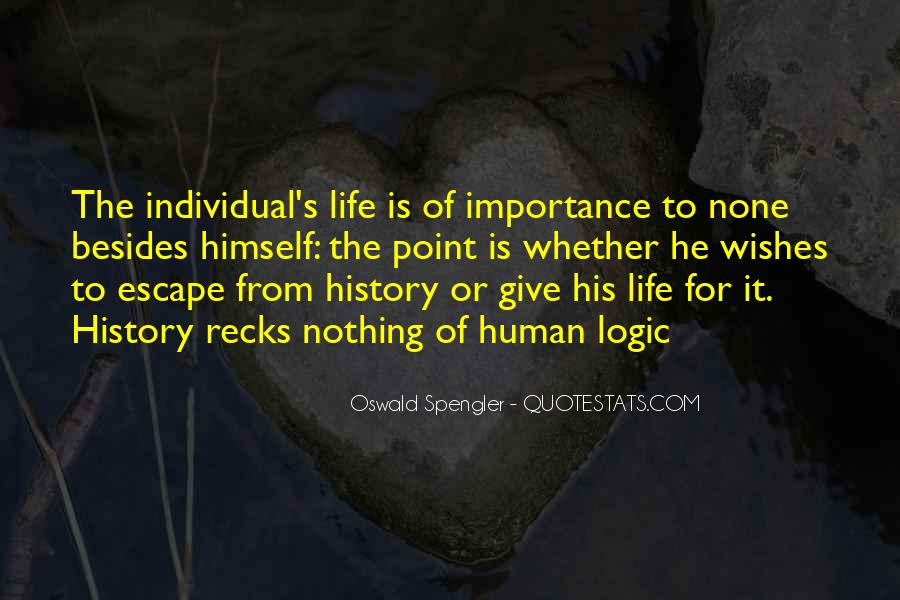 Quotes About Importance Of History #1361671