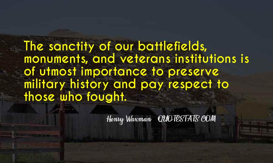Quotes About Importance Of History #1499245