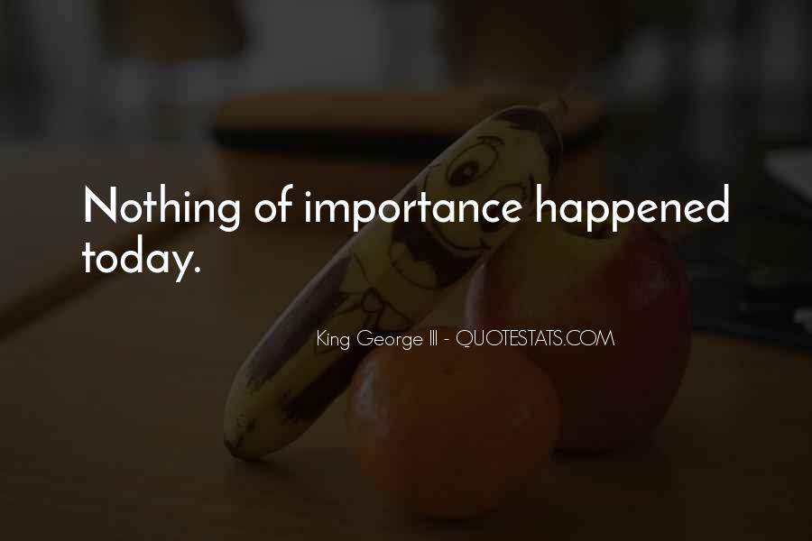 Quotes About Importance Of History #557740