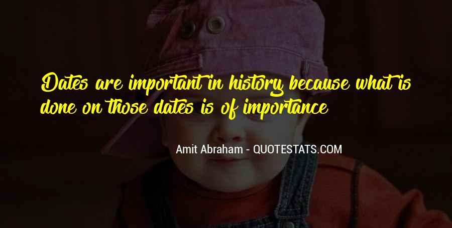 Quotes About Importance Of History #653809