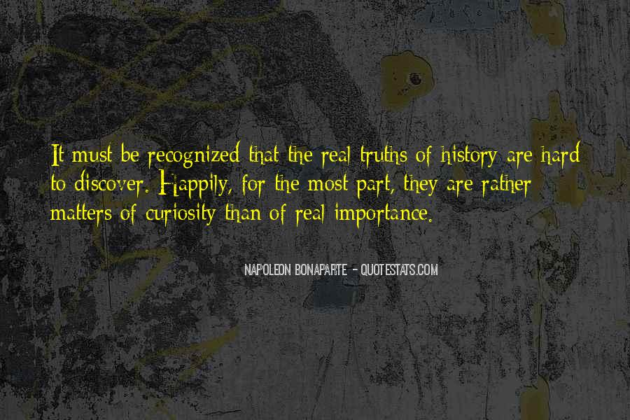 Quotes About Importance Of History #917709