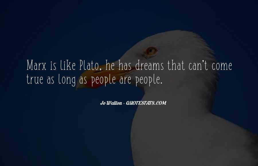 Quotes About Plato Idealism #1876783