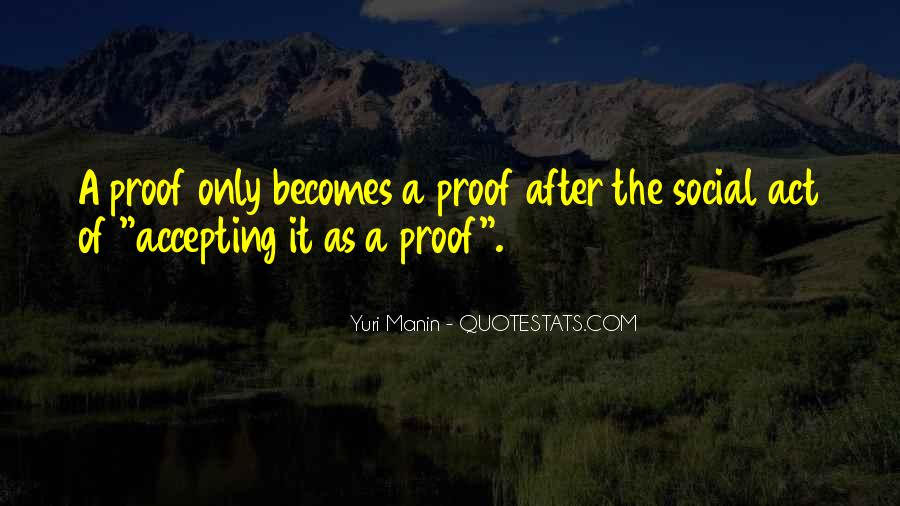 Quotes About Social Proof #518988