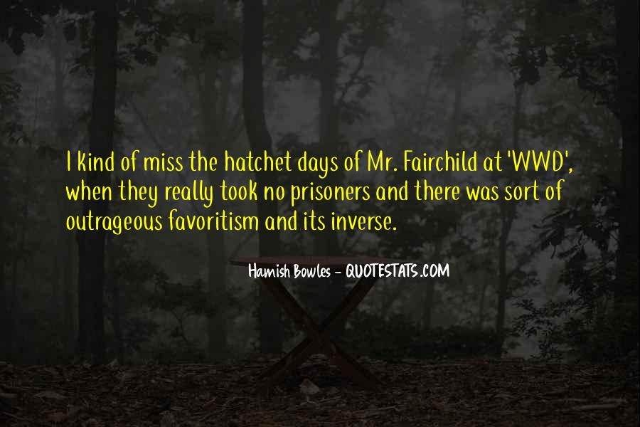 Quotes About Hatchet #1359573