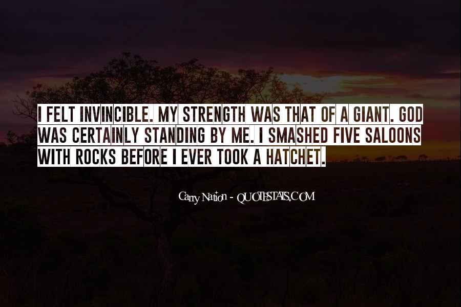 Quotes About Hatchet #1592926