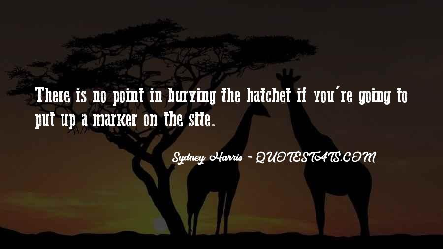 Quotes About Hatchet #843338