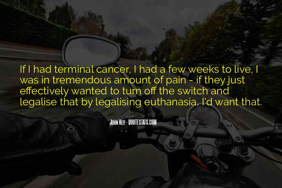 Quotes About Cancer Pain #1345807